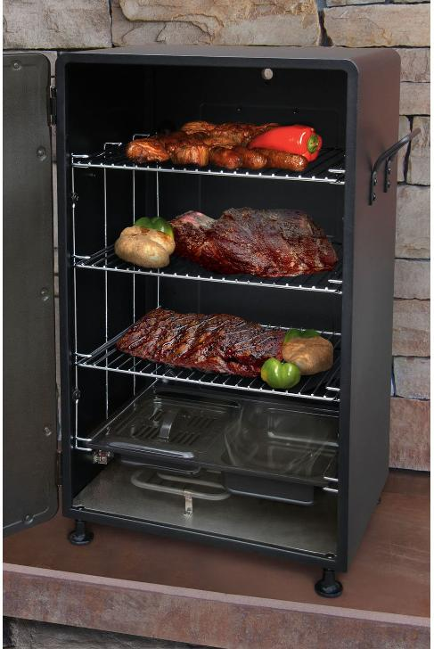 small smoker grill barbecue bbq outdoor upright