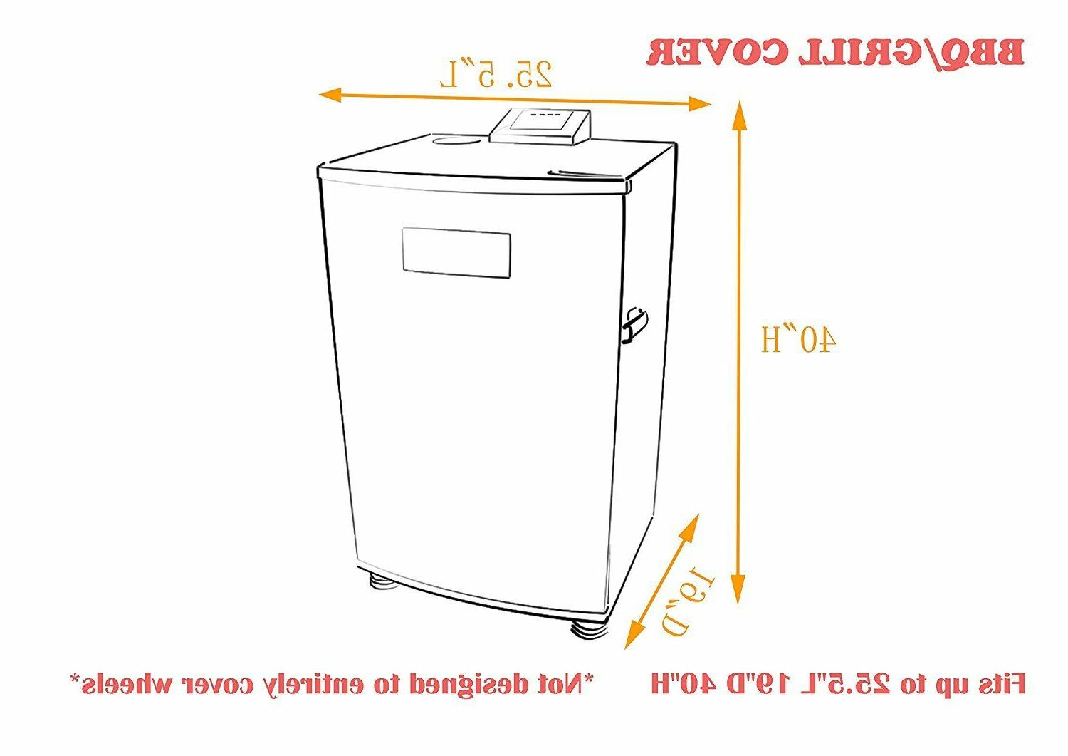 iCOVER for electric smoker