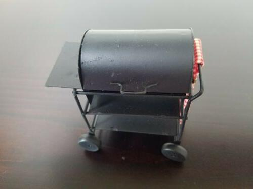 Vintage Dollhouse Barbeque Smoker 1:12 Scale