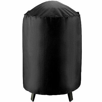 waterproof round electric smoker grill cover 19