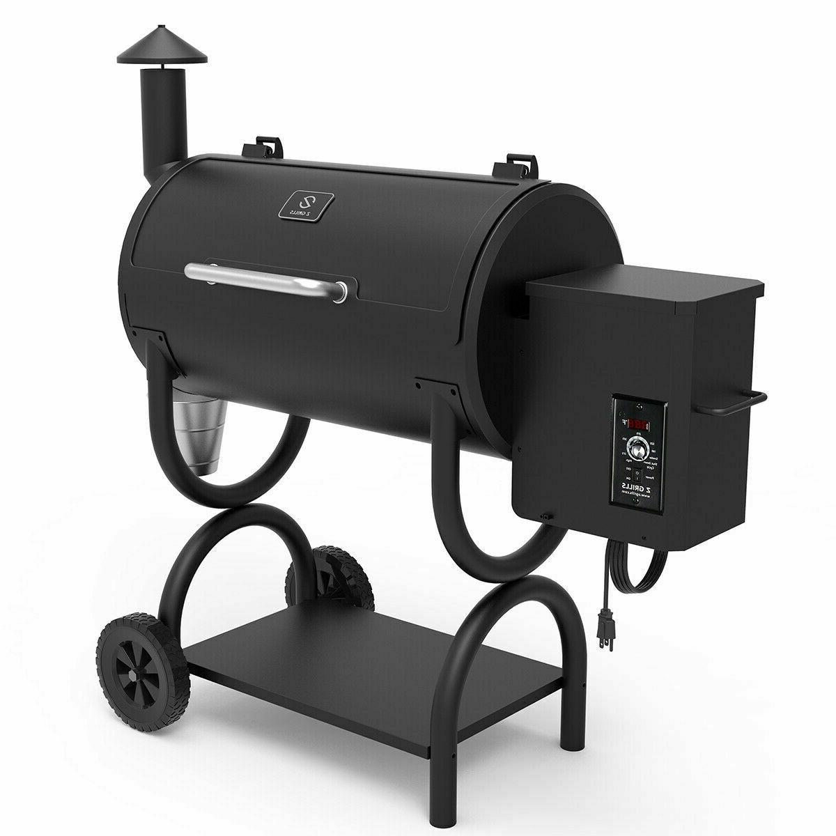 wood pellet bbq grill smoker with pid