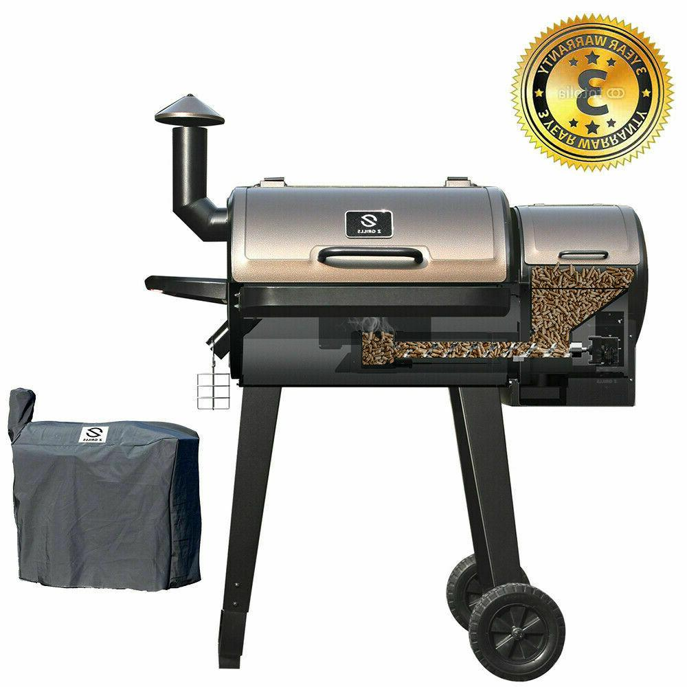 zpg 450a grills wood pellet barbecue grill