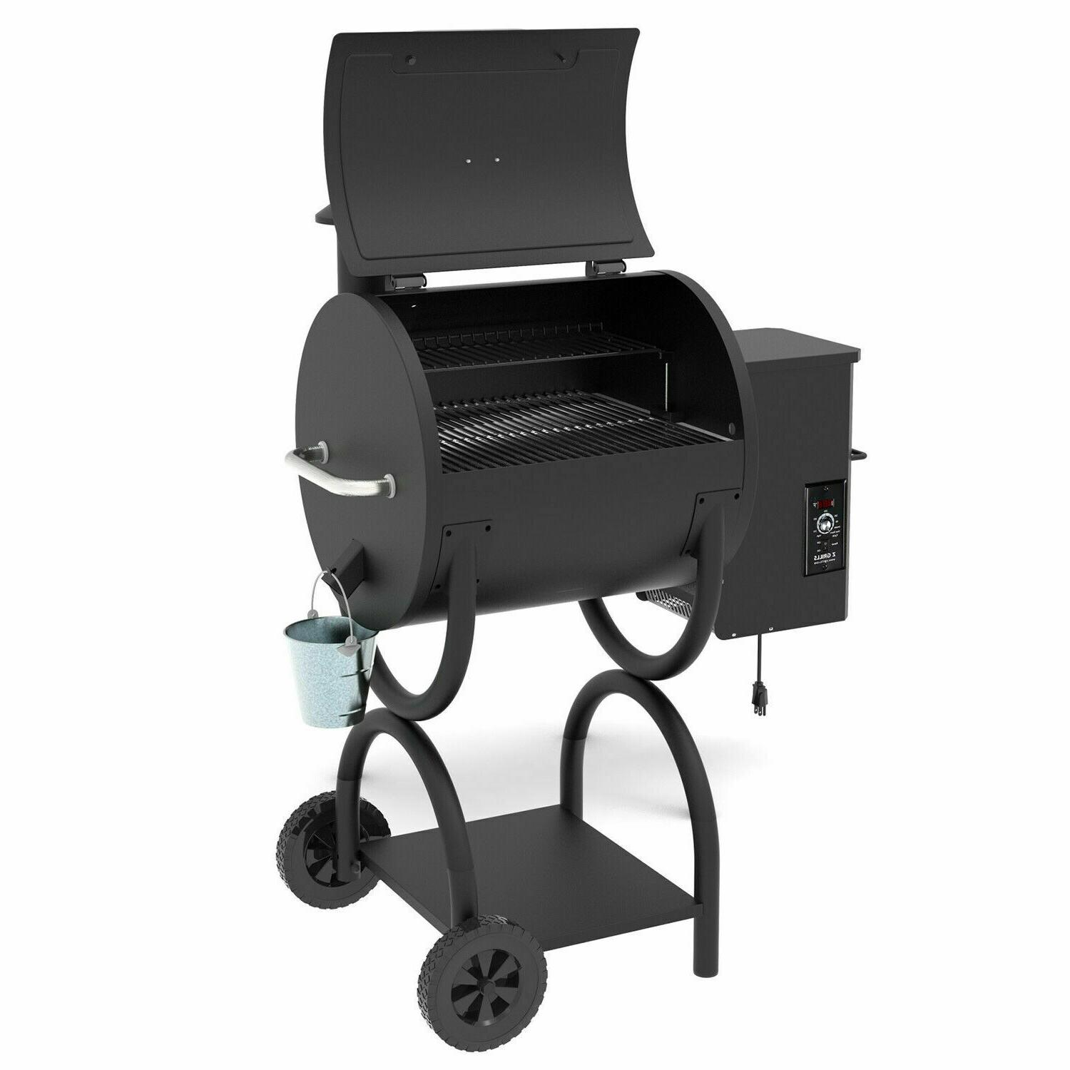Z GRILLS New Wood Grill& Smoker Control
