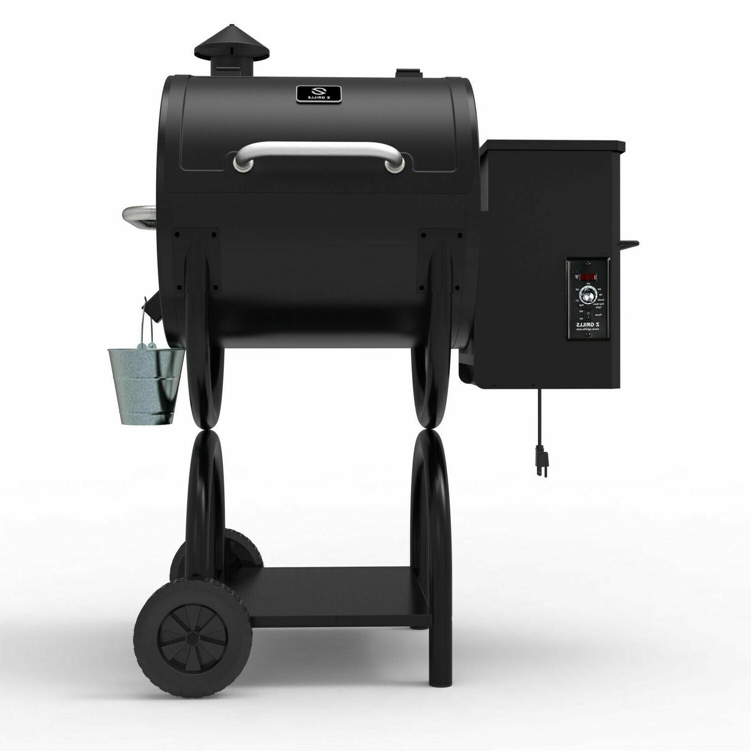 Z GRILLS ZPG-550A New Pellet Grill& with Digital Control