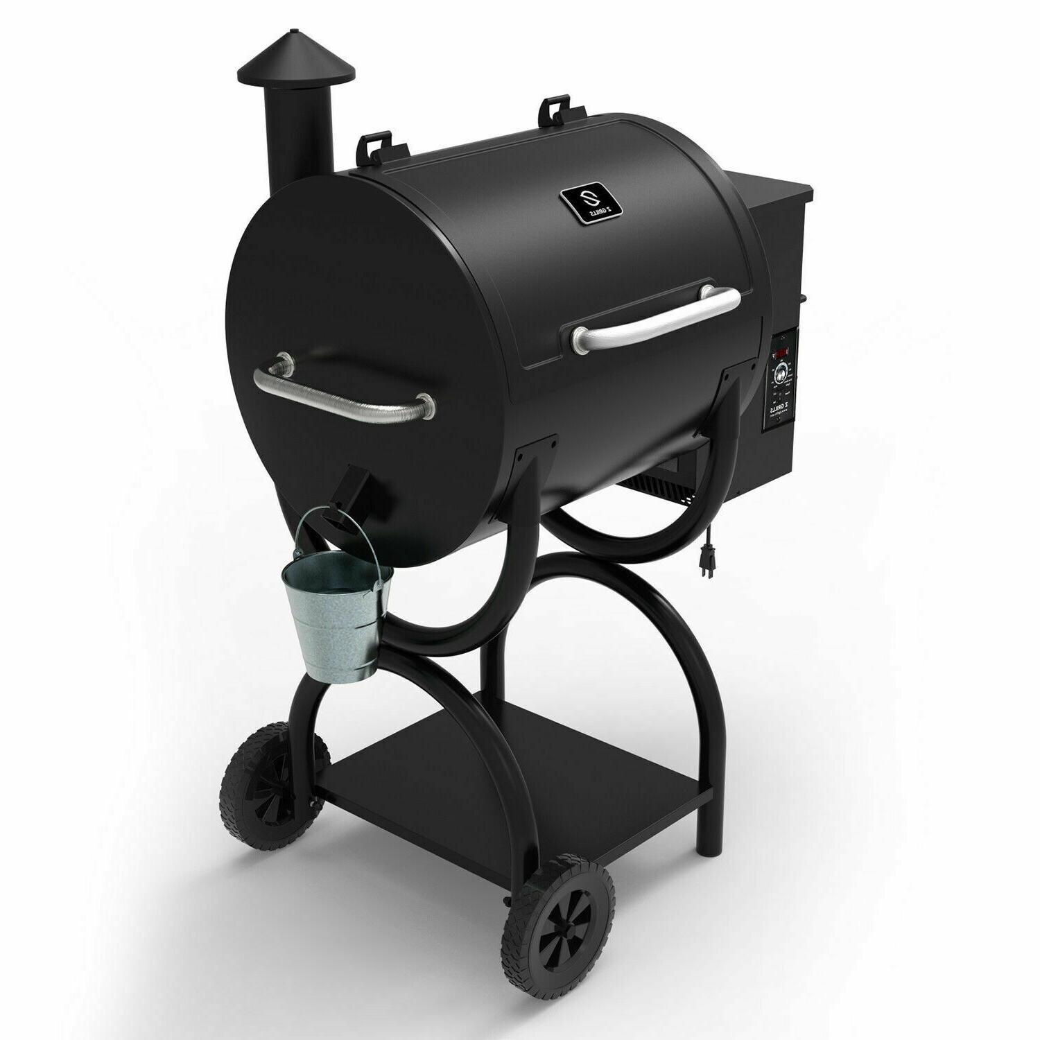 zpg 550a 2020 newest wood pellet grill