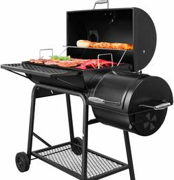 Offset Smoker Cover Charcoal Grill Waterproof Heavy Duty Out