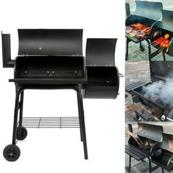 Outdoor BBQ Grill Charcoal Barbecue Pit Patio Backyard Meat