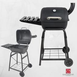 Charcoal Grill Outdoor BBQ Pit Patio Backyard Meat Cooker Sm