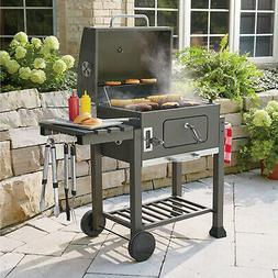Portable Outdoor BBQ Grill Charcoal Barbecue Backyard Meat P