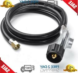 QCC1 Propane Regulator and Hose Kit for LP Gas Grill, Gas Sm