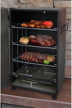 Smoker Grill Barbecue BBQ Outdoor Small Upright Vertical Ele