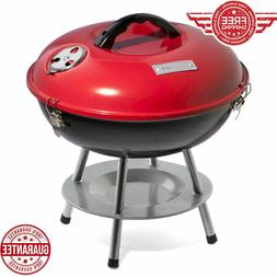 Barbecue Charcoal Grill Smoker Portable Outdoor Camping Cook