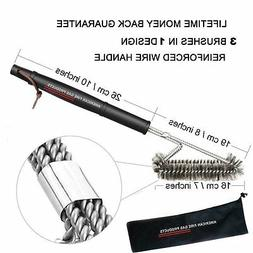 SS Brushes Weber Charcoal, Charbroil, Electric, Smoker  BBQ