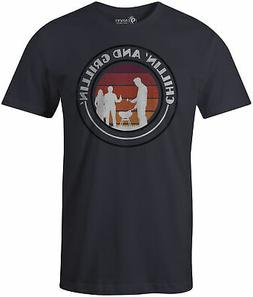 9 Crowns Tees Men's Grill Sergeant Funny BBQ T-Shirt