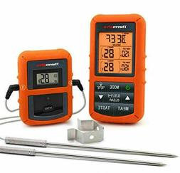 tp20 digital wireless meat thermometer dual probe