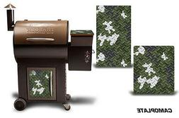 Traeger Smoker Grill Graphic Kit Decal Wrap Skin For CostCo