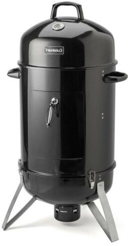 Outdoor Vertical Charcoal Smoker BBQ Grill Two-Cooking Racks