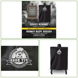 VERTICAL SMOKER COVER Pit Boss Heavy Duty Polyester Weather