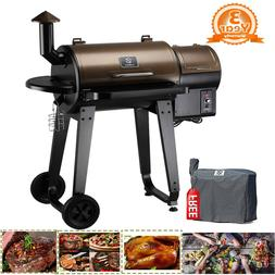 Z GRILLS Wood Pellet Grill and Smoker Outdoor with Update Pi