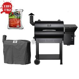 Z GRILLS Wood Pellet Grill & Smoker 700sq in 6-1 BBQ Grill w