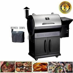 Z GRILLS Wood Pellet Smoker Grill Style Camp Chef Meat Pro w