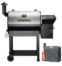 Z GRILLS ZPG-7002E 2020 Upgrade Wood Pellet Grill  Smoker, 8