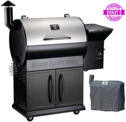 Z GRILLS ZPG-700E 2020 New Model Wood Pellet Grill & Smoker,